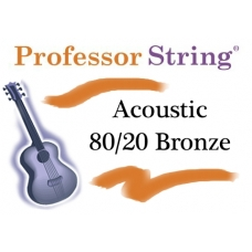 80/20 Bronze Acoustic Guitar Strings .011