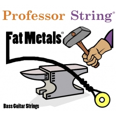 Fat Metals 5-String Bass Stainless Steel .050