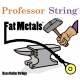 Fat Metals 4-String Bass Stainless Steel .040